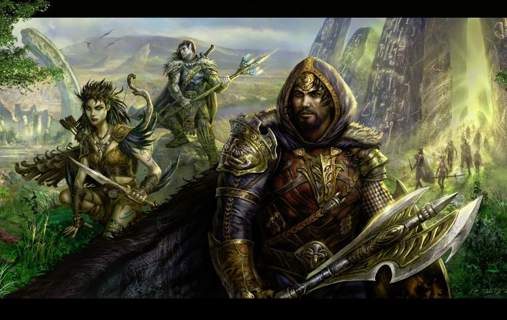 pantheon MMORPG