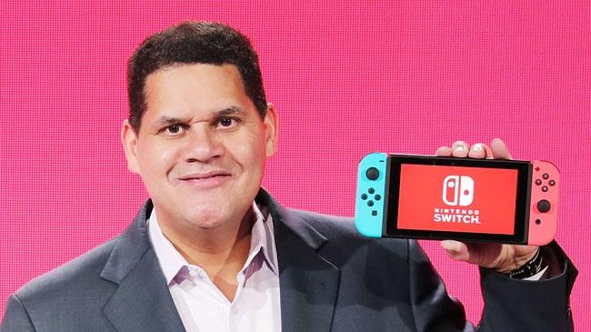 Reggie Fils-Aime Nintendo Switch E3 2017