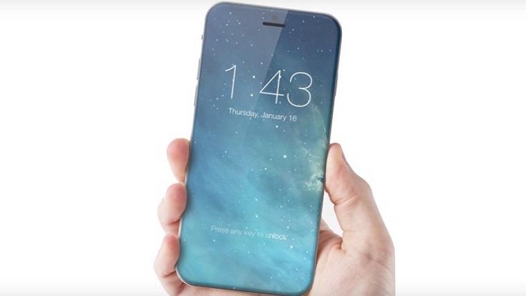 iPhone 8 rear fingerprint scanner and vertical dual-camera