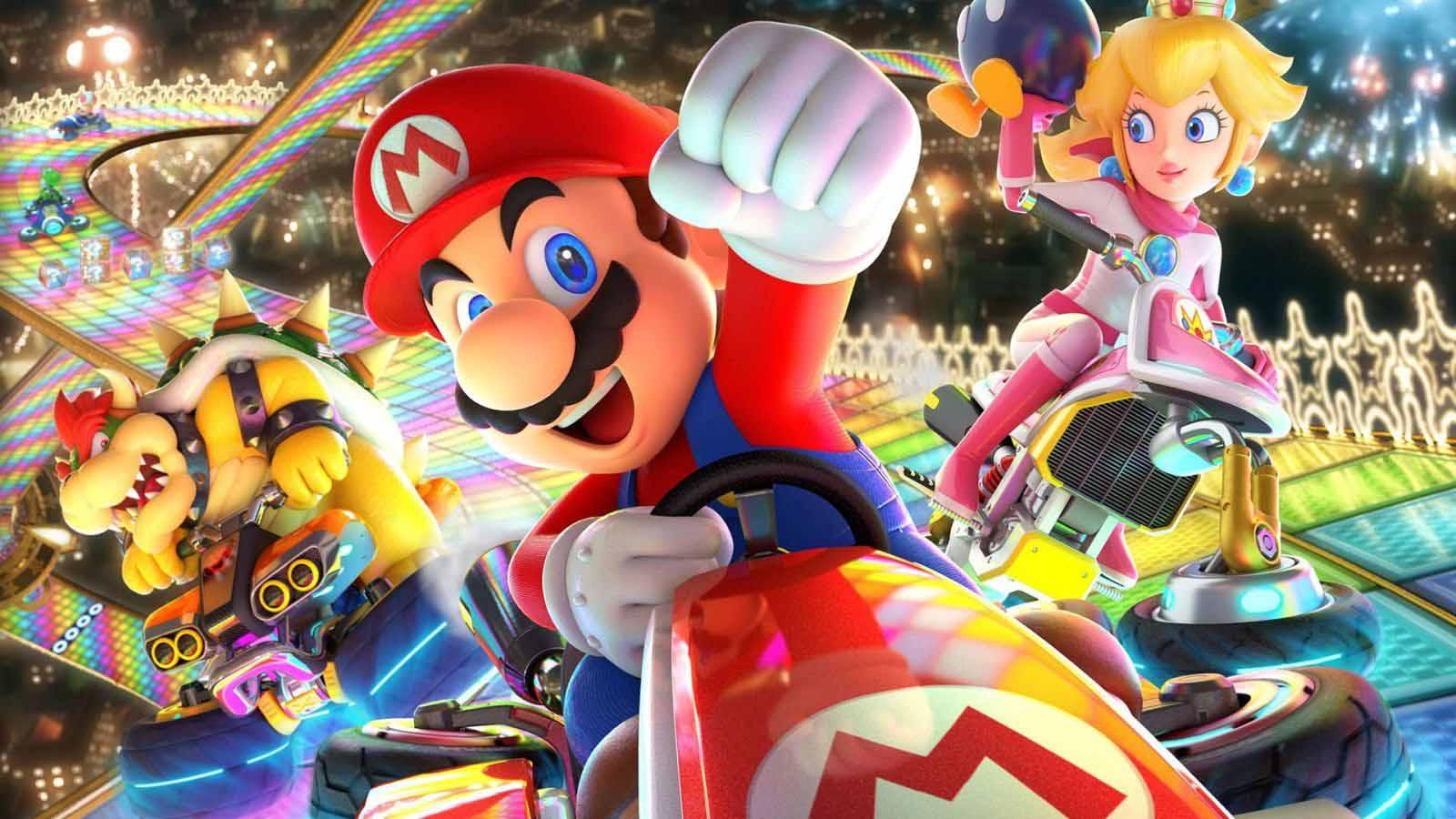 Mario Kart 8 Deluxe Switch Port
