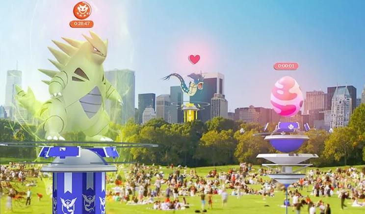 Pokemon Go Summer Update gym redesign raid battles