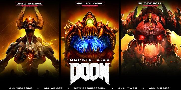 DOOM 6.66 update all dlc free