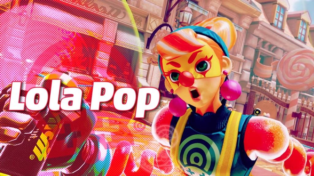 Arms Lola Pop Switch