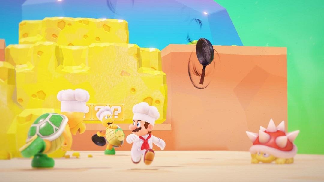 Super Mario Odyssey Luncheon Kingdom