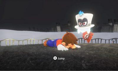 Super Mario Odyssey performance