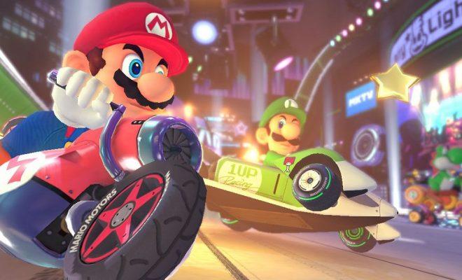 Mario Kart 8 deluxe Update Patch 1.3