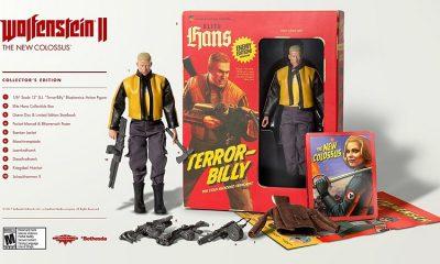 Wolfenstein 2 collector's edition