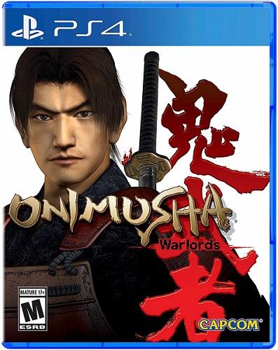 Onimusha Warlords PS4 box art
