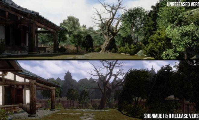 Shenmue canceled remake
