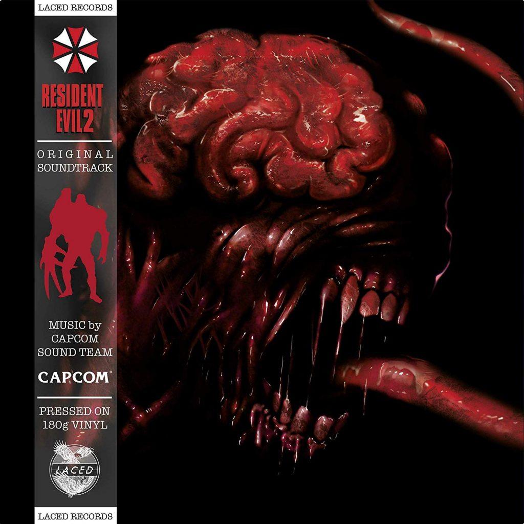 Resident Evil 2 original double vinyl soundtrack