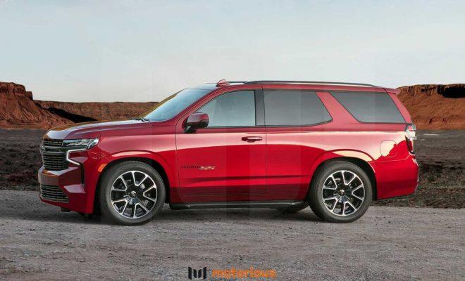 2021 Chevrolet Tahoe Reimagined With Two-Door ZR2, SS Renderings | Motorious.com