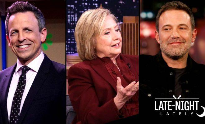 Late Night Lately: Coronavirus Thoughts, Hillary Clinton on Super Tuesday, Ben Affleck's Birthday Surprise