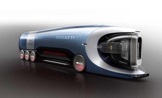 This Bugatti Hyper Truck Concept Is The Fastest Fictional Semi