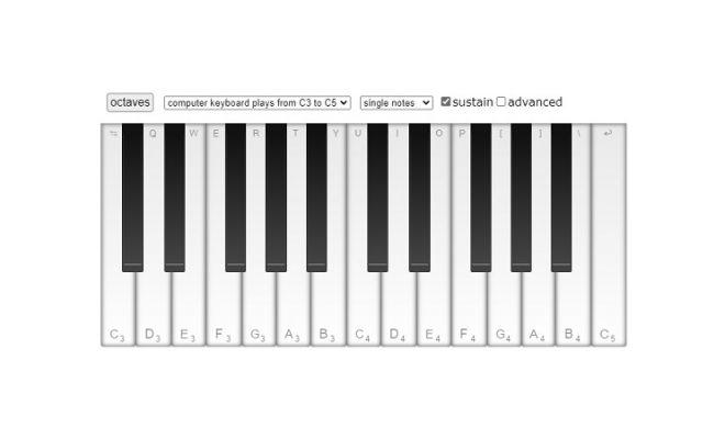 skoove virtual piano