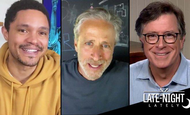 Late Night Lately: Interviews With Bubba Wallace, Jon Stewart and John Bolton