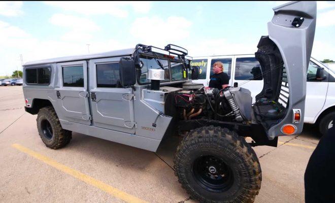 Hummer H1 Shopper Discovers Bizarre Ford-Powered Replica