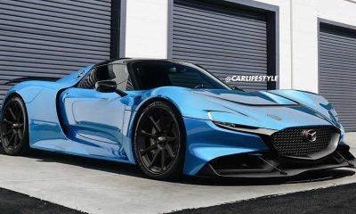 Mazda RX-Vision And Porsche 918 Spyder Morph Into Stunning Hypercar