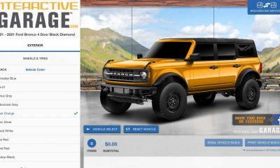 2021 Ford Bronco Interactive Garage Configurator