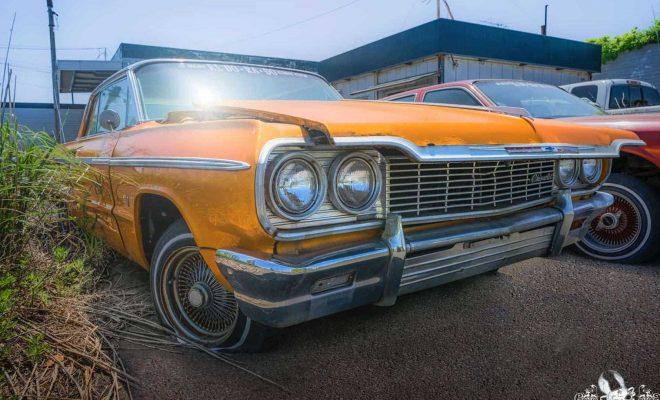 Chevy Impala - Abandoned Cars In Fukushima, Japan