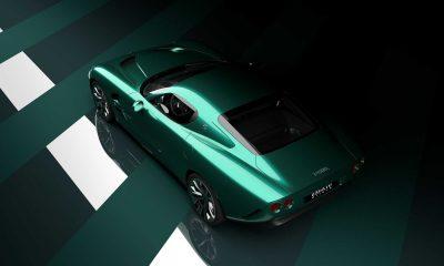 Zagato IsoRivolta GTZ (rear three-quarters)