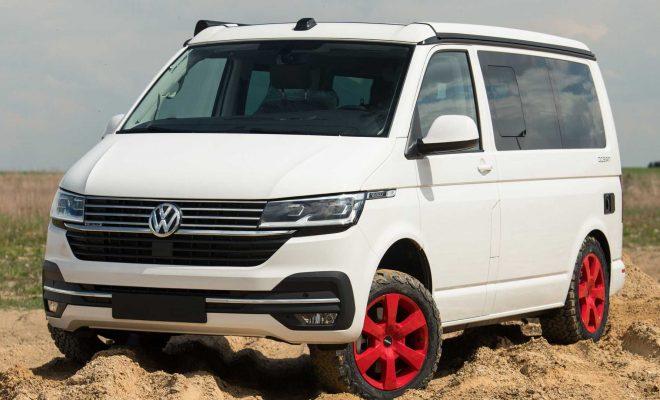 Volkswagen Transporter By delta4x4