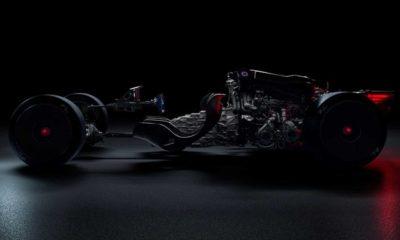 New Bugatti Hypercar Teased Naked Revealing Hardcore Racing Seat