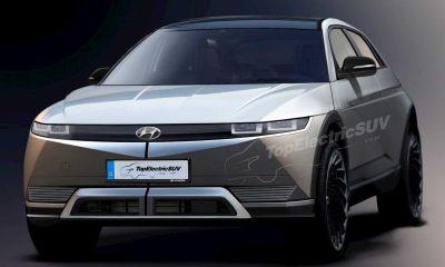 U.S.-Spec Hyundai Ioniq 5 Electric Car Rendered