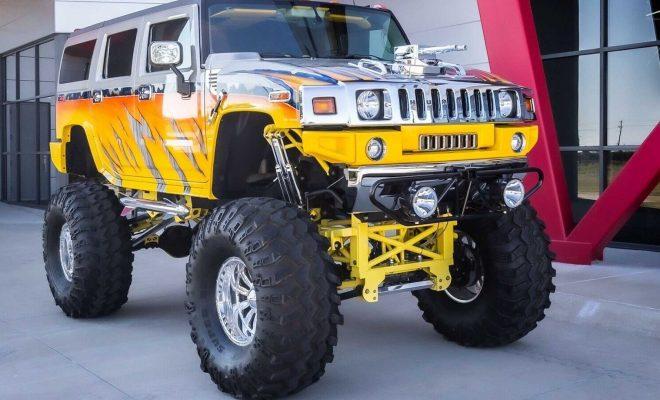 2003 Hummer H2 on eBay