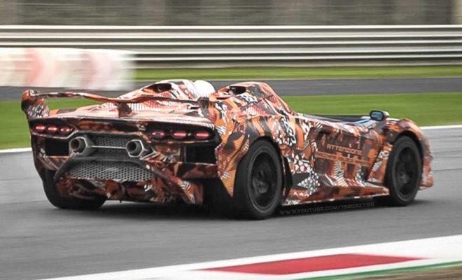 Watch Bonkers Lamborghini SC20 Lap Monza In All Its Roofless Glory