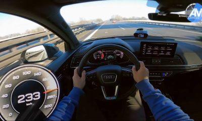 2021 Audi SQ5 Puts Its Diesel Engine To Work In Autobahn Top Speed Run
