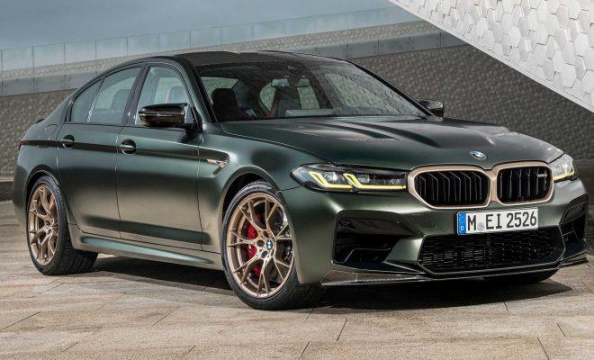 2022 BMW M5 CS Flaunts Carbon Fiber Diet, Goes 0-60 Under 3 Seconds