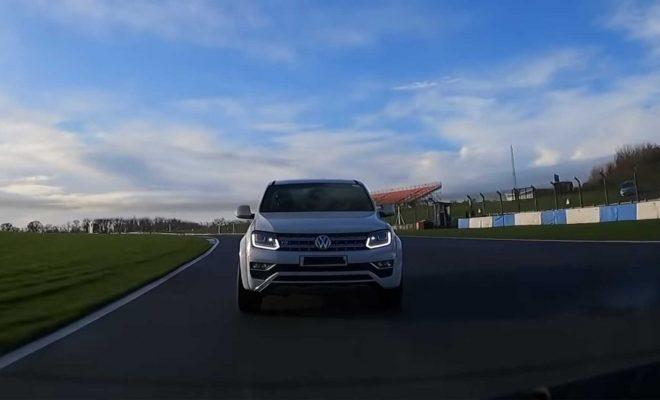 400-Horsepower VW Amarok V6 Truck Hits The Track