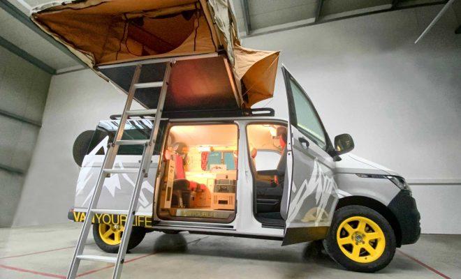 Flowcamper Casper Packs Big RV Living Into Tiny Volkswagen Space