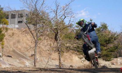 This Custom Honda Super Cub Trials Bike Looks Like So Much Fun