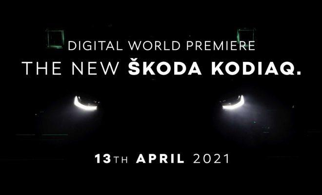 2021 Skoda Kodiaq Facelift Shows More Skin In New Teaser Video
